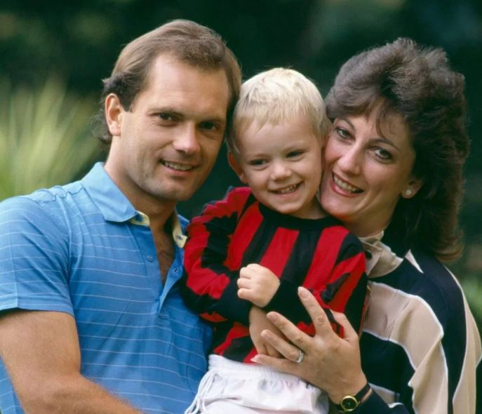 Ray Wilkins with his wife Jackie Wilkins