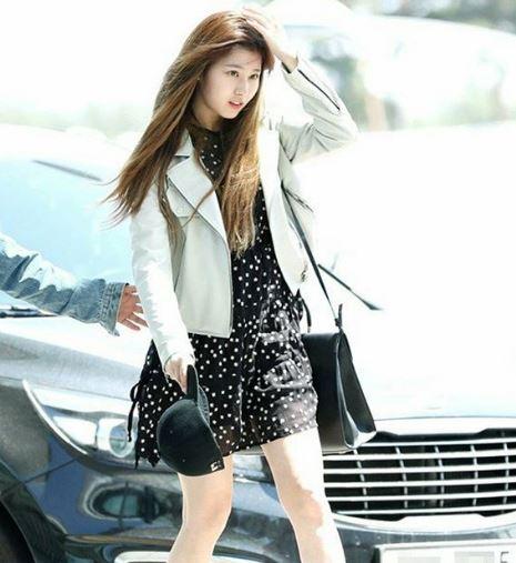 Sana at Incheon International Airport