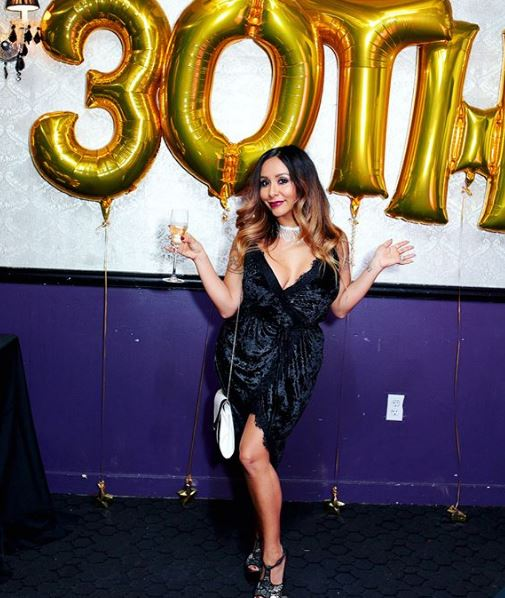 Snooki on her 30th birthday
