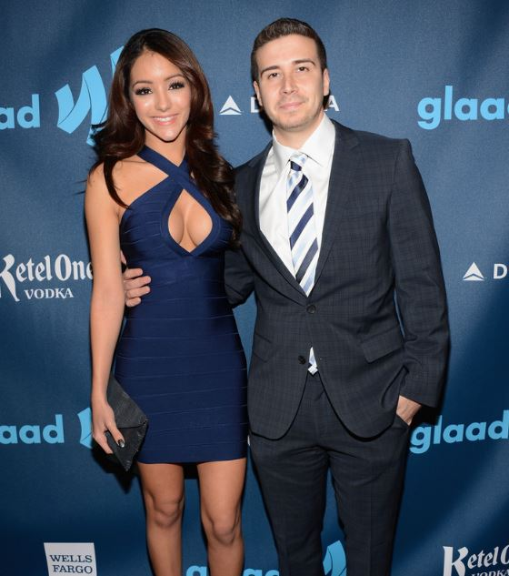 Vinny Guadagnino with his ex-girlfriend Melanie Iglesias