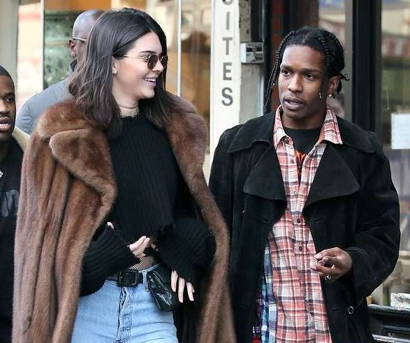 ASAP Rocky and Kendall Jenner