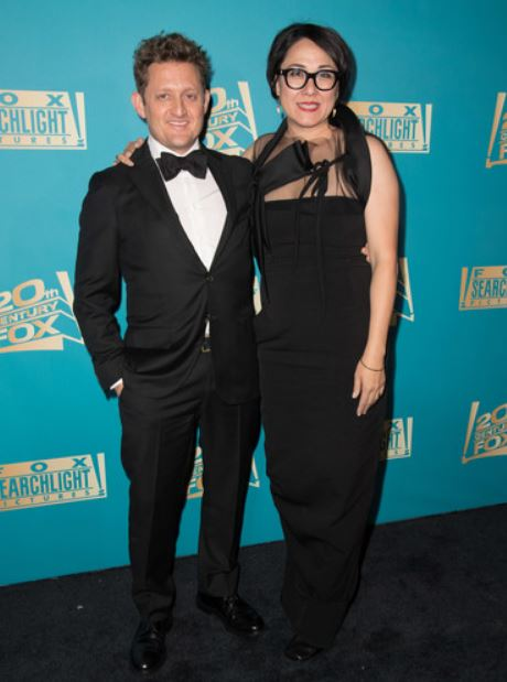 Alex Winter with his wife, Ramsay Ann Naito