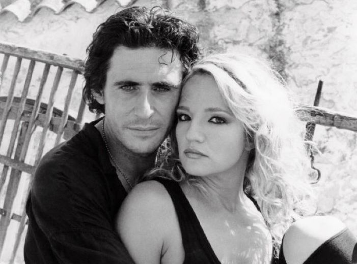 Ellen Barkin and Gabriel Byrne