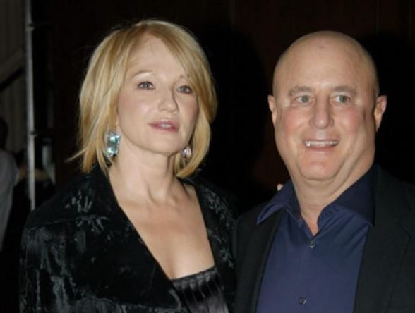 Ellen Barkin and Ronald O. Perelman