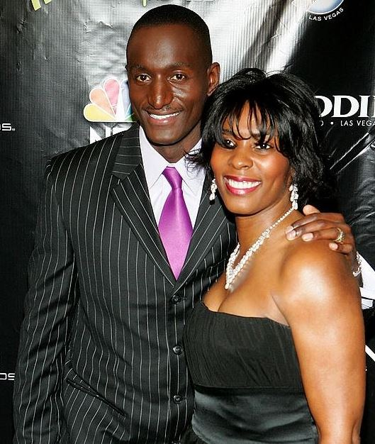 Randal Pinkett with his wife Zahara Wadud-Pinkett