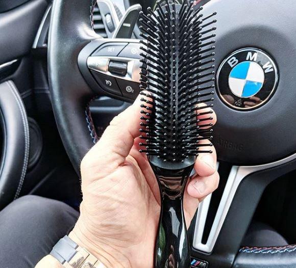 Aaron owns a BMW car