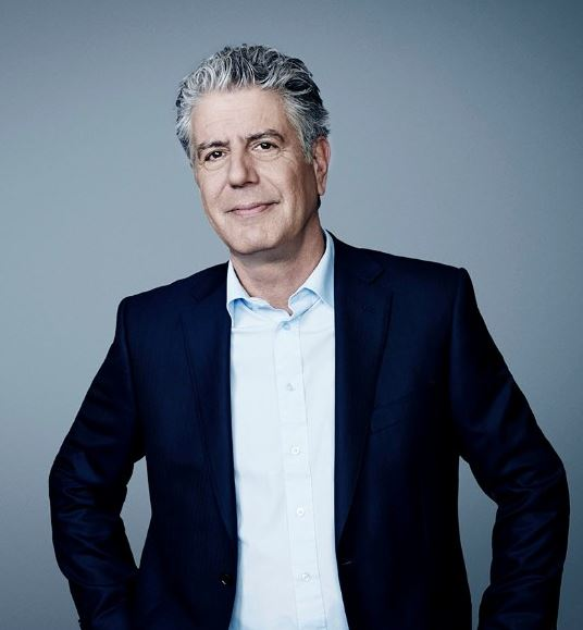 Anthony Bourdain Body Measurements, Height, Size