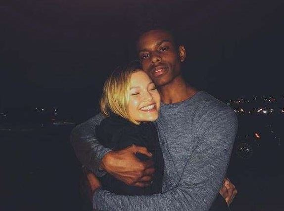 Aubrey Joseph with Olivia Holt