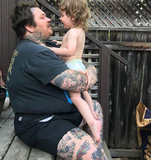 Matty loves tattoos