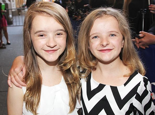 Milly with her sister, Abigail