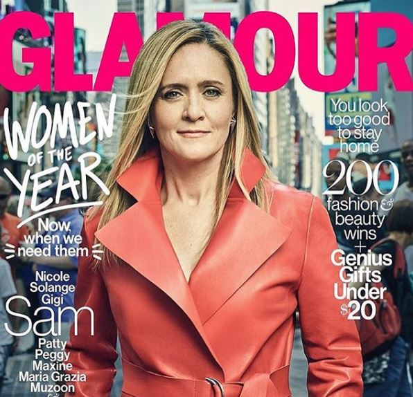 Samantha Bee featured in Glamour