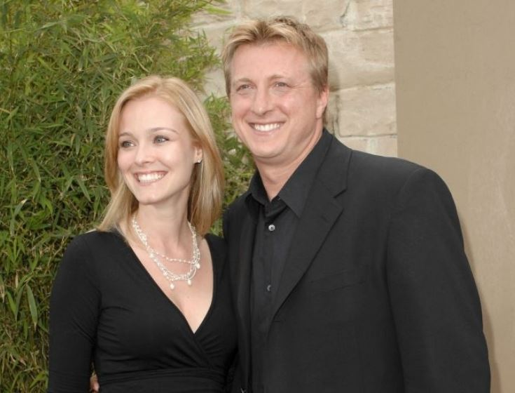 William Zabka with his wife, Stacie Zabka