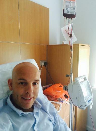Ali in hospital