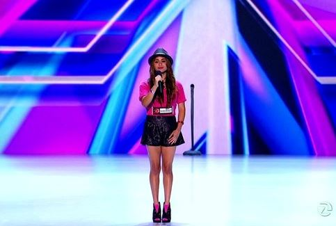 Ally Brooke performing in X-Factor