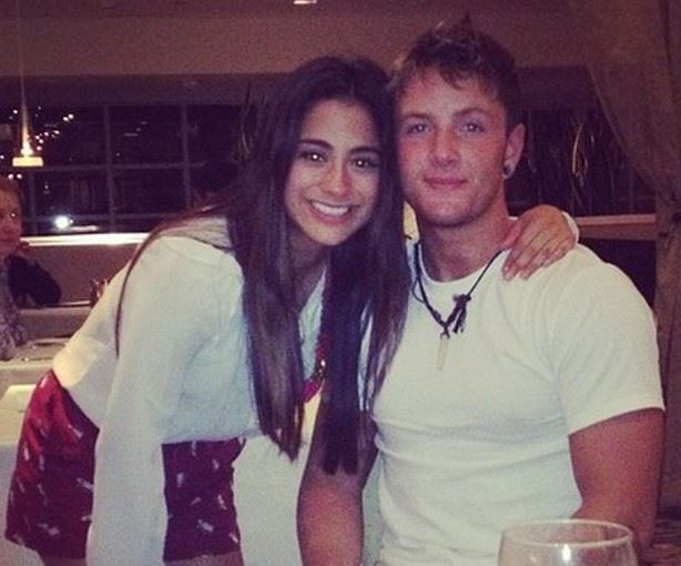 Ally Brooke with Drew Chadwick