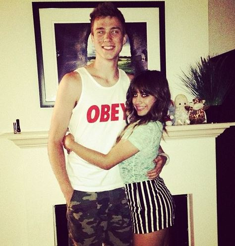 Ally Brooke with Troy Ogletree