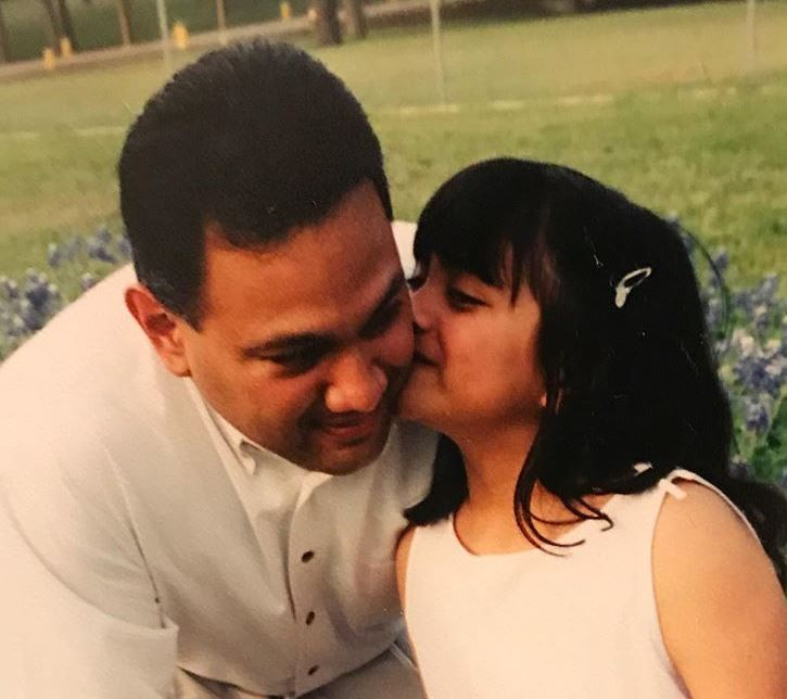 Ally Brooke with her father, wished him Happy Fathers Day