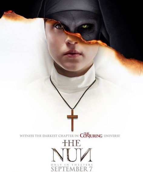Bonnie in The Nun movie