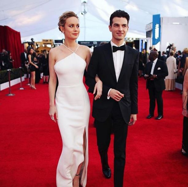 Brie with her boyfriend turned fiance, Alex Greenwald