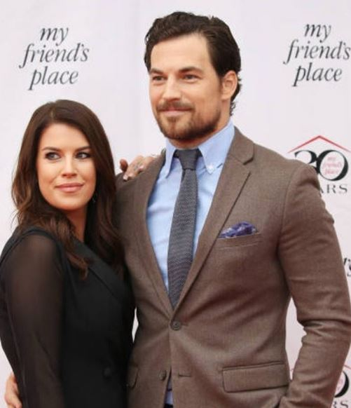 Giacomo with his fiance, Nichole attending 30th Anniversary Gala