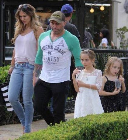 Jessica with her husband, Joe and daughters