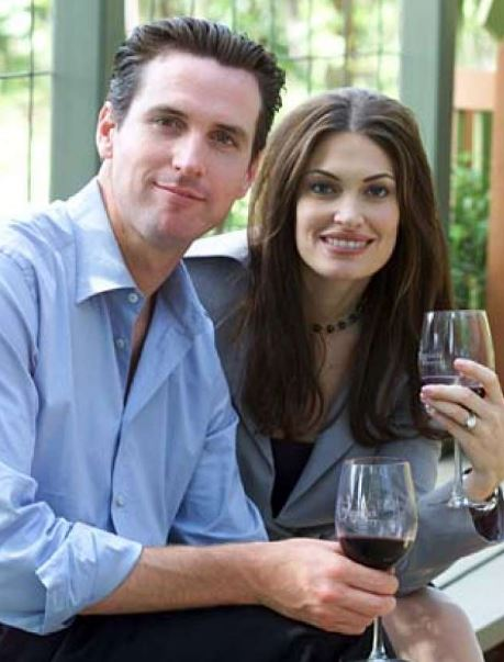 Kimberly with Gavin Newsom