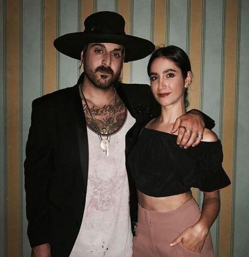 Nikohl with her boyfriend, Wild the Coyote