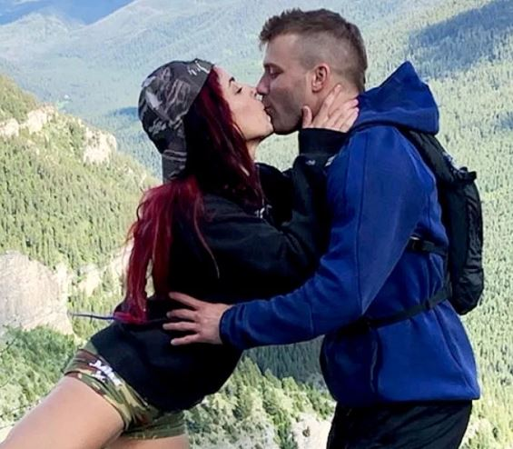 Paulie with his girlfriend, Cara Maria