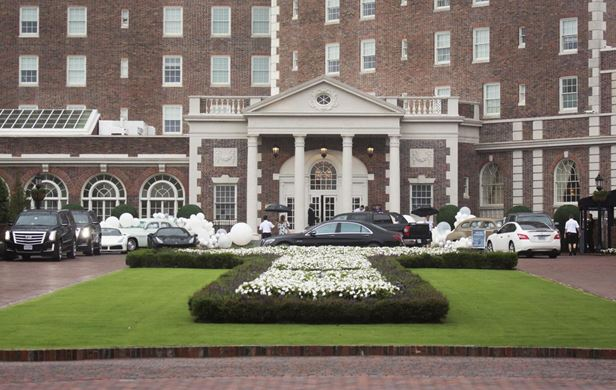 Pusha T wedding venue, Cavalier Hotel