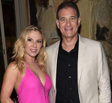Ramona Singer with Steven Gerber