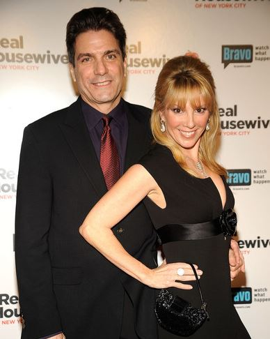 Ramona with her ex-husband, Mario Singer