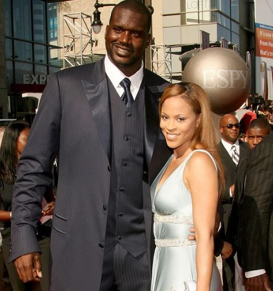 Shaunie with Shaquille ONeal