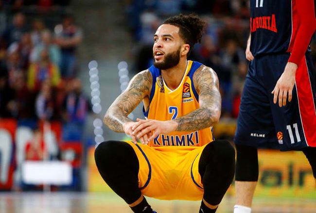 Tyler played for EuroLeague clubs Khimki