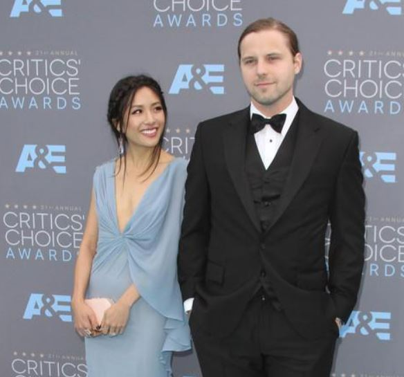 Constance Wu and Ben Hethcoat