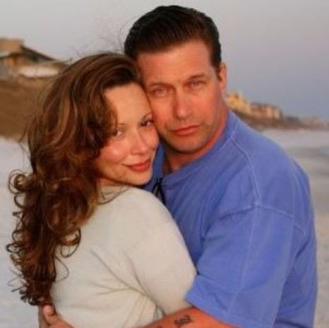 Kennya with her husband, Stephen Baldwin