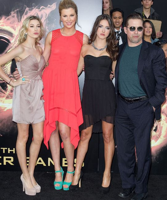Kennya with her husband Stephen and daughters