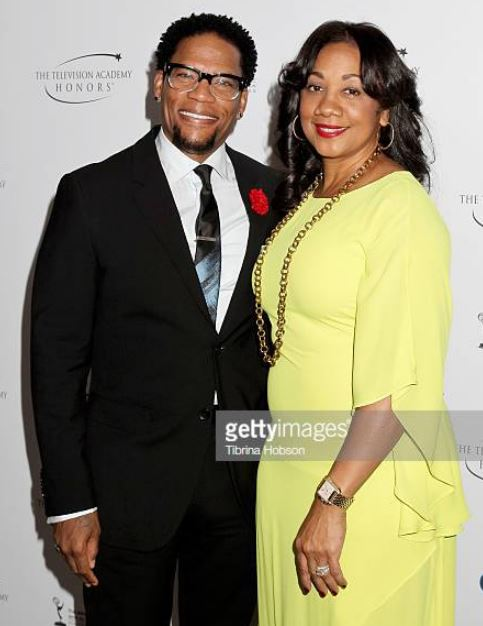 Ladonna with her husband, DL Hughley