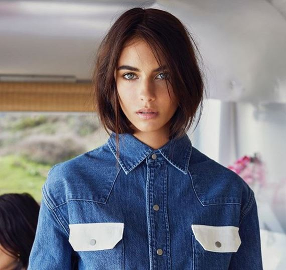 Renee featuring Calvin Klein brand