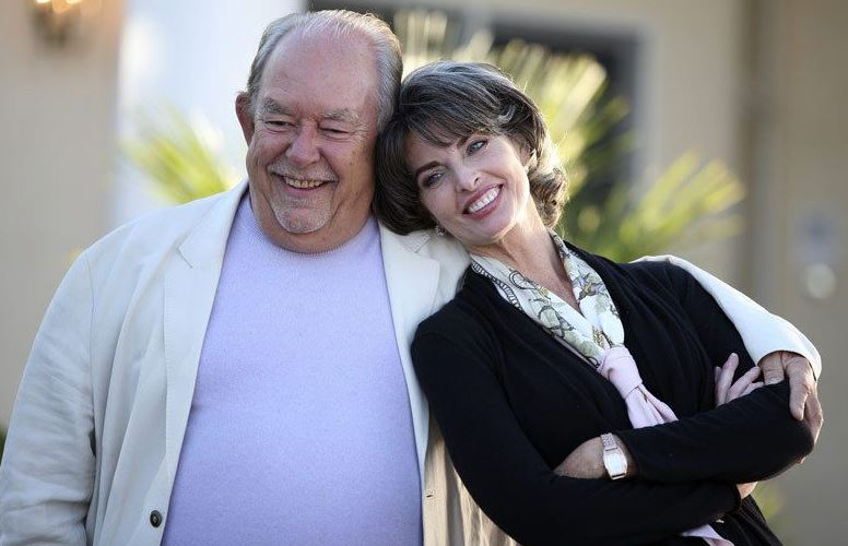Robin Leach with Joan Severance