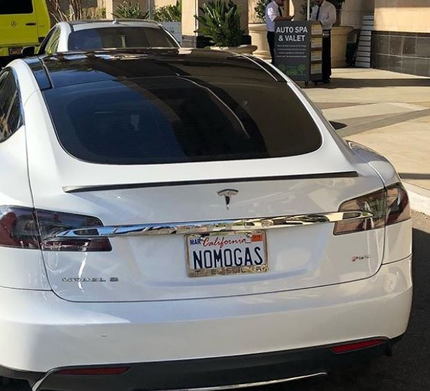 Vanna owns Tesla Model 3
