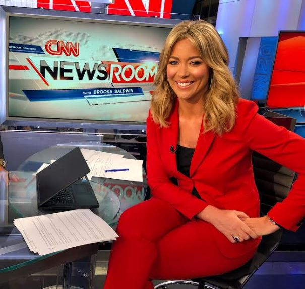 Brooke Baldwin inside CNN Newsroom