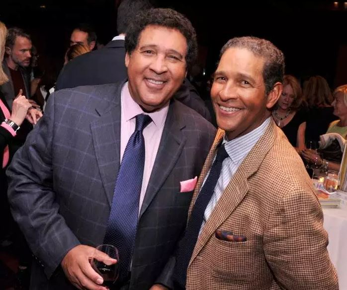 Bryant with his brother, Greg Gumbel