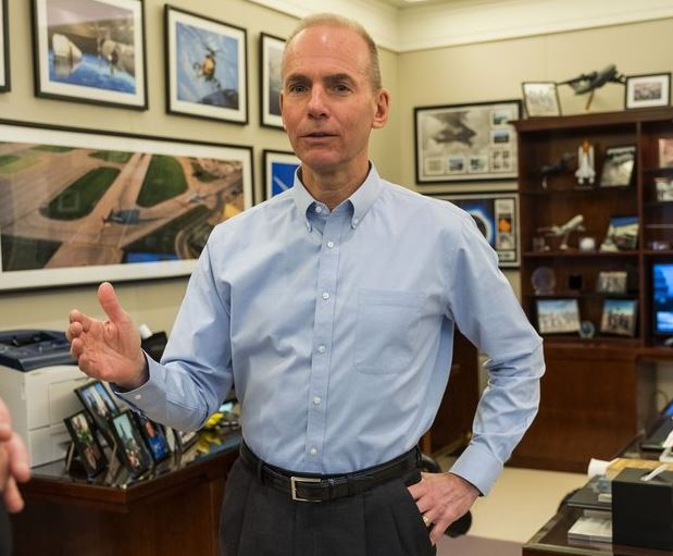 Dennis Muilenburg Net Worth, Salary, Income