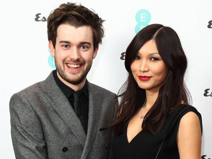 Gemma with her boyfriend, Jack Whitehall