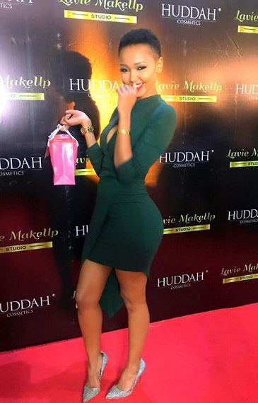 Huddah Monroe Body Measurements, Height, Weight