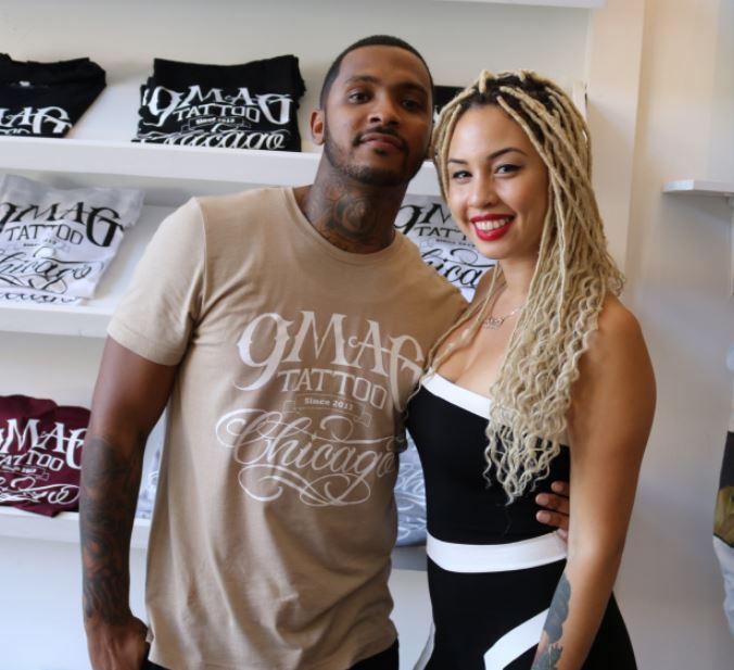 Katrina Jackson with Ryan Henry
