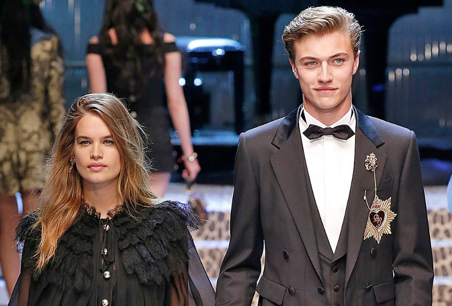 Lucky Blue Smith and Stormi Bree