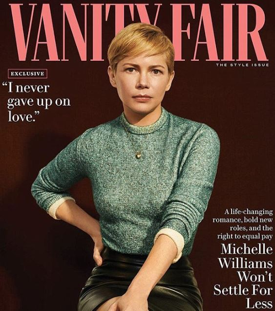 Michelle featured in Vanity Fair