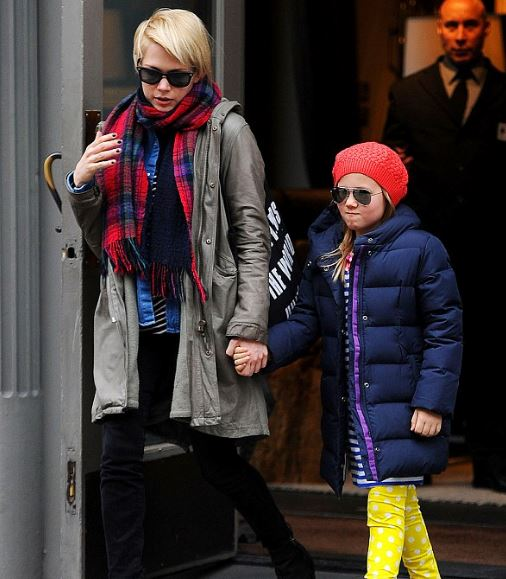 Michelle with her daughter