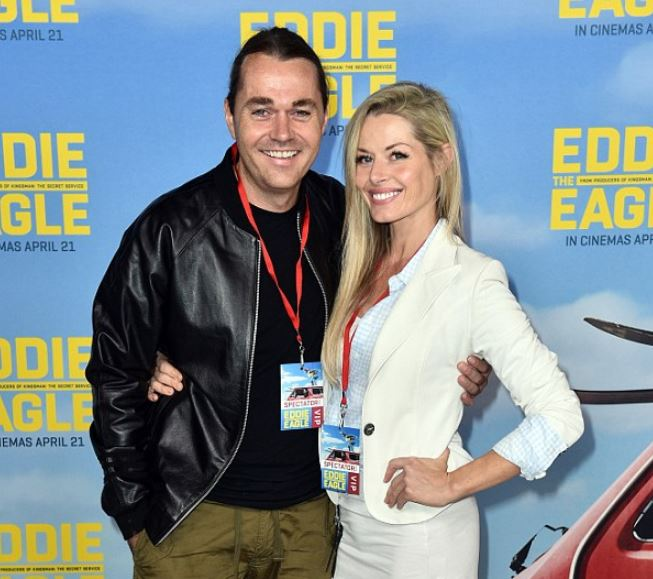 Shannon Bennett with his ex-wife, Madeleine West